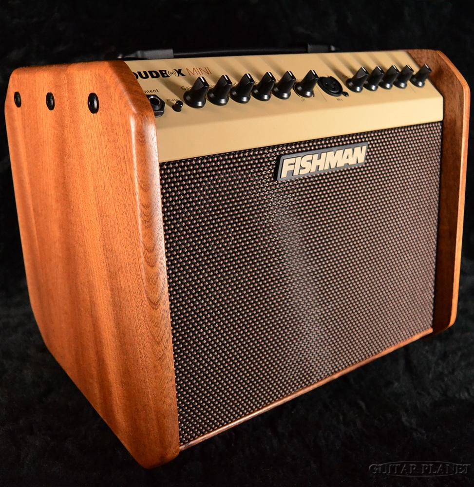 【60W】FISHMAN Loudbox mini Mahogany 新品[フィッシュマン][ラウドボックスミニ][Acoustic Guitar Combo Amplifier,アコースティックギター用コンボアンプ]