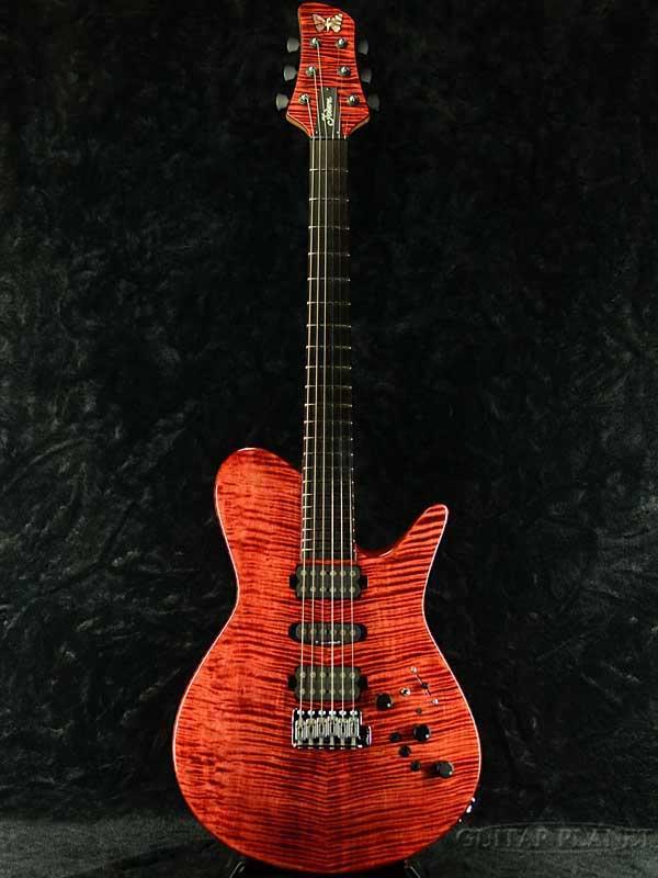 【中古】Fodera Guitars Imperial Semi-Hollow 2001年製[フォデラ][インペリアル,セミホロウ,カスタムオーダー][Red,赤,レッド][御委託品][Electric Guitar,エレキギター]【used_エレキギター】