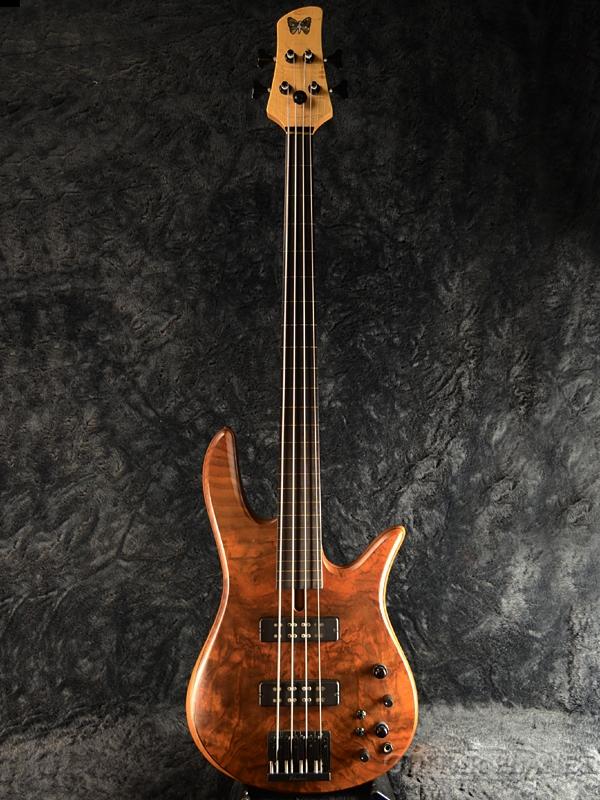 【中古】Fodera Monarch Standard 4st Fretless[フォデラ][モナーク][スタンダード][Natural,ナチュラル][フレットレス][Electric Bass,エレキベース]【used_ベース】