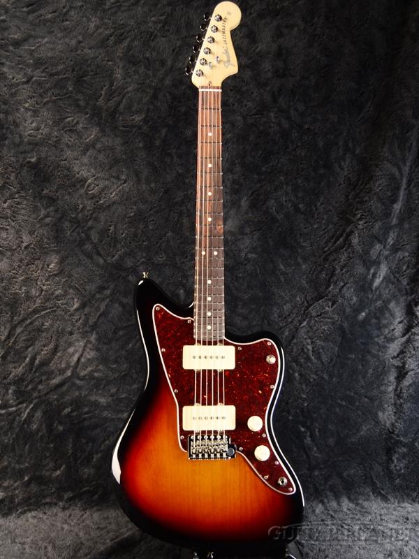 Fender USA American Performer Jazzmaster -3-Color Sunburst / Rosewood- 新品[フェンダーUSA][アメリカンパフォーマー][サンバースト][ジャズマスター][Electric Guitar,エレキギター]