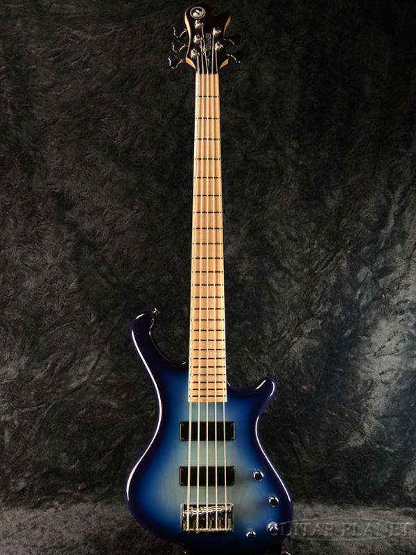 【サウンドメッセ出品モデル】Freedom Dulake Libero 5st -5:00- 新品[フリーダム][国産][5strings,5弦][Blue,ブルー,青][Electric Bass,エレキベース]