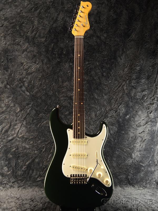 FREEDOM Retrospective ST -Black ... Green?- 新品[フリーダム][レトロスペクティブ][国産][ブラック,グリーン,黒,緑][Stratocaster,ストラトキャスタータイプ][Electric Guitar,エレキギター]