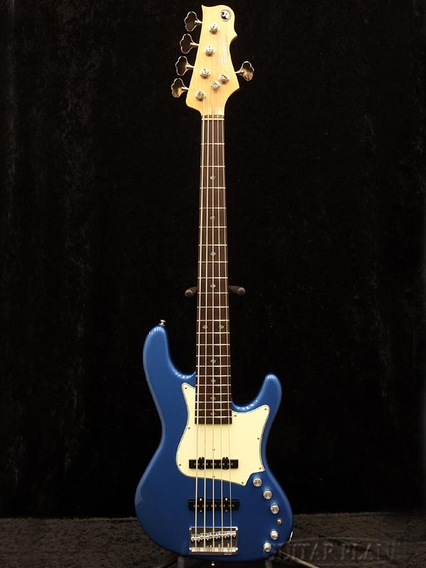 【セール】 Freedom RHINO 5st -Lake Placid Blue- 新品[フリーダム][国産][5strings,5弦][レイクプラッシドブルー,青][ジャズベース,JB][Electric Bass,エレキベース], 布とリボンの手芸店シナモンブルー 8a9e5086