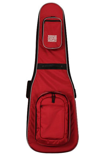 Freedom Custom Guitar Research Transporter Bag Series Red Bird for Bass SP-GB-04 新品[フリーダム][国産][レッド,赤][ベース用ギグバッグ,Electric Bass][Gig Bag]