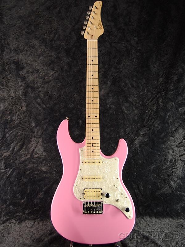 FgN BOS-M ORP 新品[フジゲン,富士弦][国産][Pink,ピンク][ストラトキャスタータイプ][Electric Guitar,エレキギター]