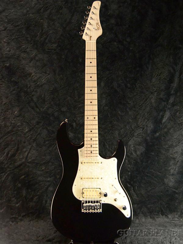 FgN BOS-M BK 新品[フジゲン,富士弦][国産][ブラック,黒][ストラトキャスタータイプ][Electric Guitar,エレキギター]