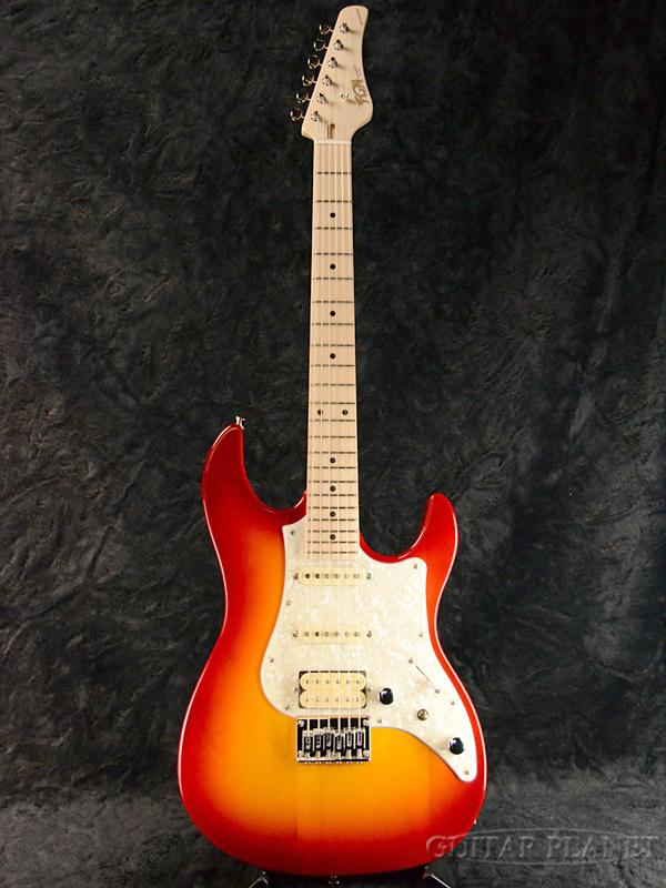 FgN BOS-M CS 新品[フジゲン,富士弦][国産][チェリーサンバースト][ストラトキャスタータイプ][Electric Guitar,エレキギター]