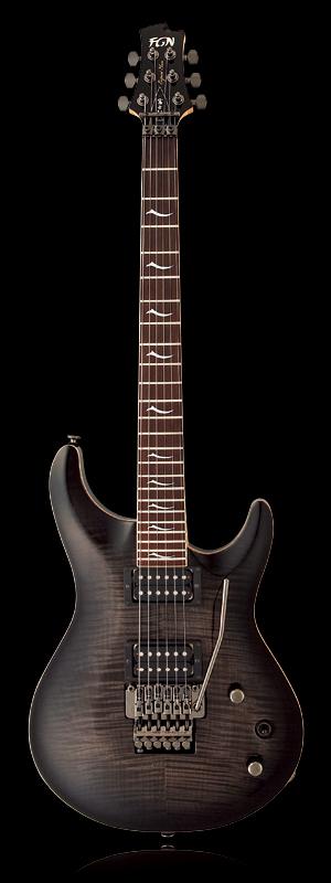 FUJIGEN EEL-FM-TR TKS 新品[フジゲン,富士弦,FgN][国産][Black,ブラック,黒][艶有り][サークルフレッティング][エレキギター,Electric Guitar]