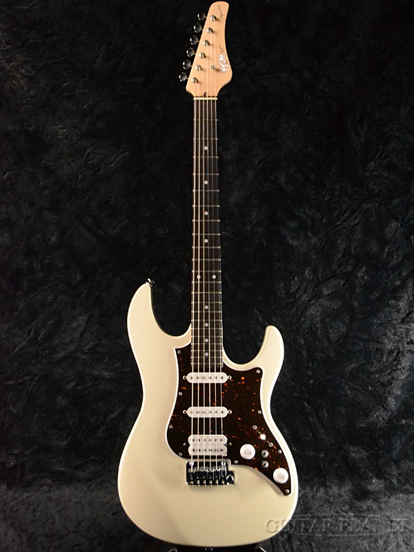 FUJIGEN EOS-AL-R AWH 新品[フジゲン,富士弦,FgN][国産][White,アンティークホワイト,白][Stratocaster,ストラトキャスタータイプ][Electric Guitar,エレキギター]