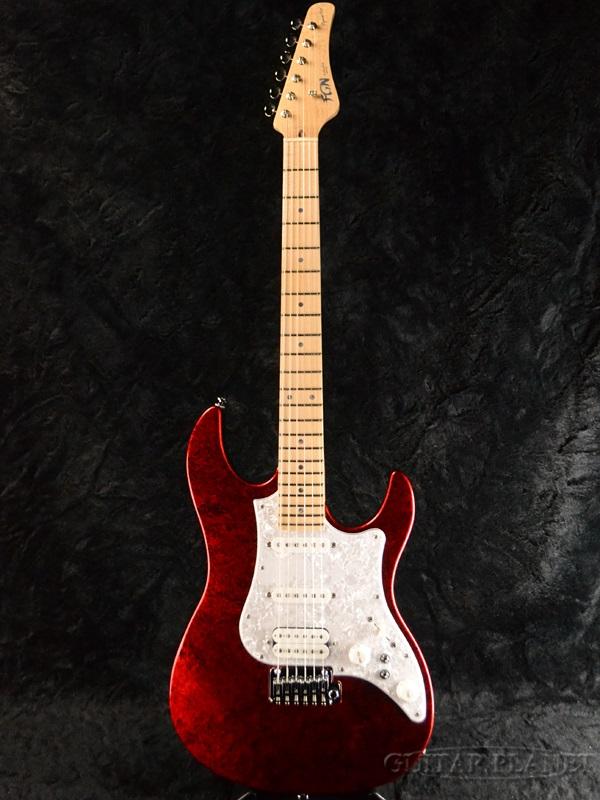 FUJIGEN EOS-ASH-M-SP1 FRR 新品[フジゲン,富士弦,FgN][国産][Red,レッド,赤][Electric Guitar,エレキギター]