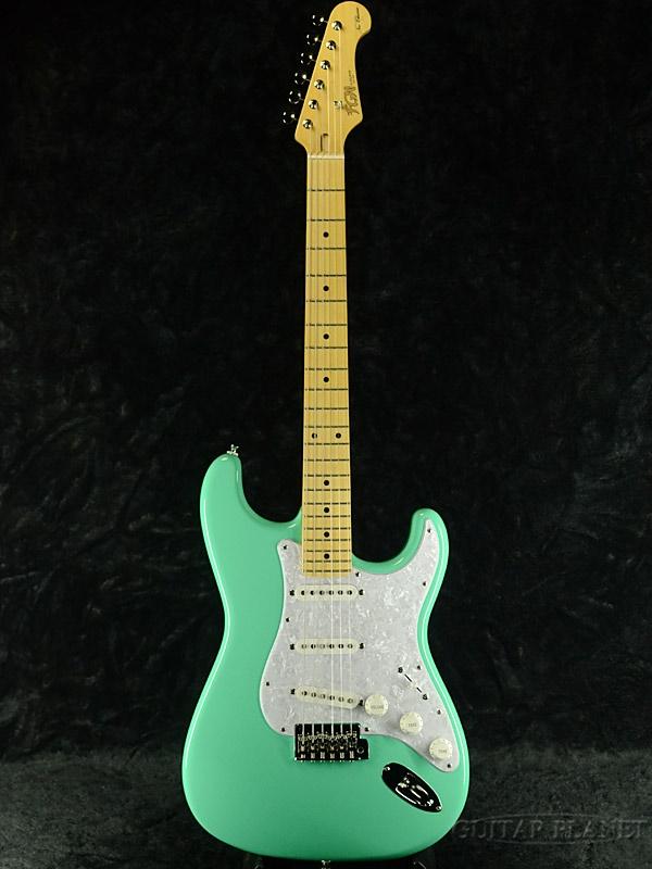 【当店カラーオーダーモデル】FgN(FUJIGEN) NST10MAH SFG 新品[フジゲン,富士弦][国産][Surf Green,サーフグリーン,緑][Stratocaster,ストラトキャスター][Electric Guitar,エレキギター]