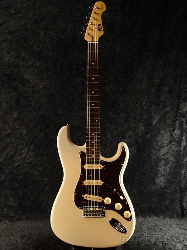 FgN(FUJIGEN) NST20RAL VWH 新品[フジゲン,富士弦,FgN][国産][ヴィンテージホワイト,白][Stratocaster,ストラトキャスター][エレキギター,Electric Guitar]