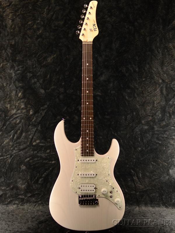 FUJIGEN EOS-ASH-R WB 新品[フジゲン,富士弦,FgN][国産][White Blond,ホワイトブロンド,白][Stratocaster,ストラトキャスター][Electric Guitar,エレキギター]