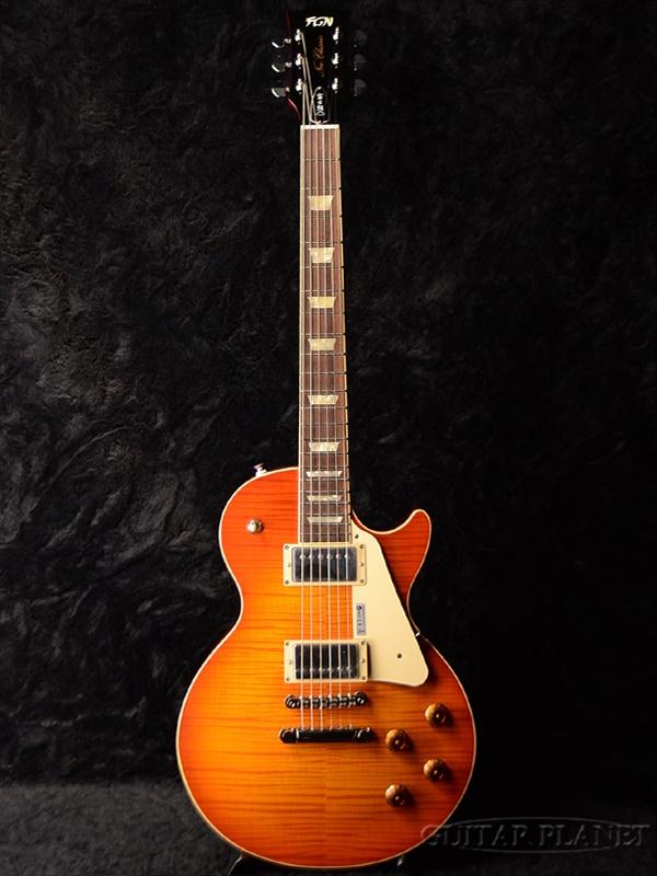 FgN(FUJIGEN) NLS200 FCB 新品 フェイデッドチェリーバースト[フジゲン,富士弦][国産][Faded Cherry Burst][LP STD,Les Paul,レスポールタイプ][エレキギター,Electric Guitar]