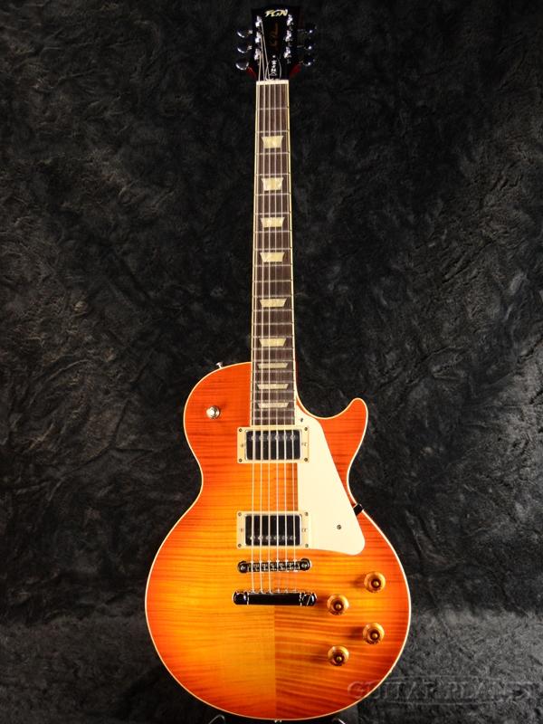 FgN(FUJIGEN) NLS20RFM-FCB 新品[フジゲン,富士弦][国産][Cherry Sunburst,チェリーサンバースト][Les Paul,レスポールタイプ][Electric Guitar,エレキギター]