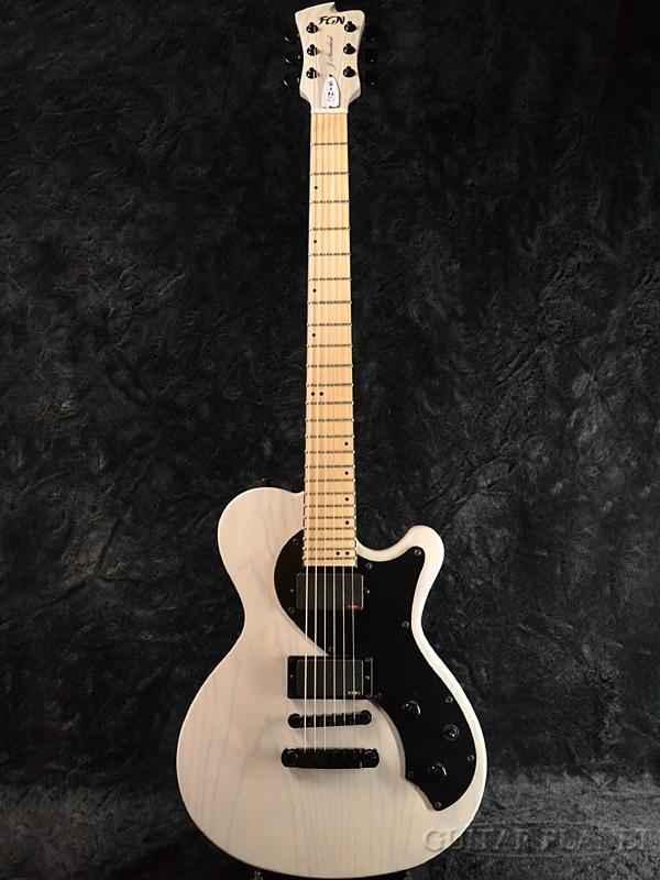 FgN(FUJIGEN) JFL-FT-ASH-DE664-M TWF 新品[フジゲン,富士弦][国産][White,ホワイト,白][Les Paul,レスポールタイプ][Electric Guitar,エレキギター]