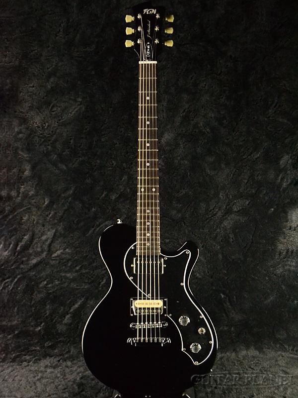 FgN(FUJIGEN) JFL-FT-HH BK 新品[フジゲン,富士弦][国産][Black,ブラック,黒][Les Paul,レスポールタイプ][Electric Guitar,エレキギター][動画]