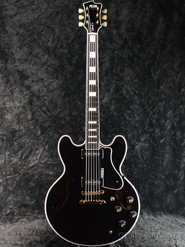 FUJIGEN MSA-SP-C/BK 新品[フジゲン,富士弦,FgN][国産][Black,ブラック,黒][セミアコ][Electric Guitar,エレキギター]