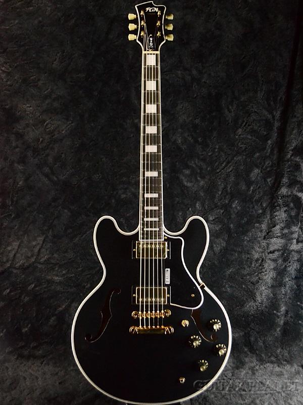 FUJIGEN MSA-HP-C BK 新品[フジゲン,富士弦,FgN][国産][Black,ブラック,黒][セミアコ][Electric Guitar,エレキギター]