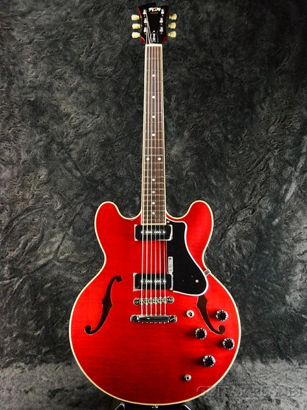 FUJIGEN MSA-SP ''CH'' 新品[フジゲン,富士弦,FgN][国産][Cherry,チェリー,赤][セミアコ][エレキギター,Electric Guitar]