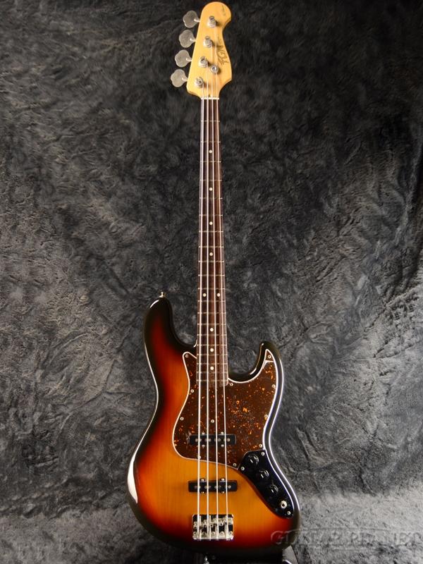 【中古】FgN NCJB -3 Tone Sunburst- 2012年製[Fujigen,フジゲン][ジャズベース,JB][3トーンサンバースト,3TS][Electric Bass,エレキベース]【used_ベース】