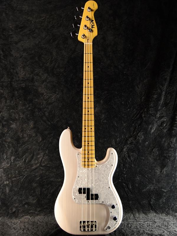 FgN(FUJIGEN) NPB10MAH -White Blonde- 新品[フジゲン,富士弦][国産][Precision Bass,プレシジョンベース,プレベ][ホワイトブロンド,白][Electric Bass,エレキベース]