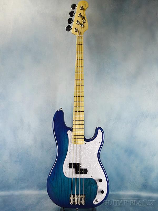 FgN(FUJIGEN) NPB10BAH J -See Through Blue Burst- 新品[フジゲン,富士弦][国産][Precision Bass,プレシジョンベース,プレベ][シースルーブルーバースト,青][Electric Bass,エレキベース]