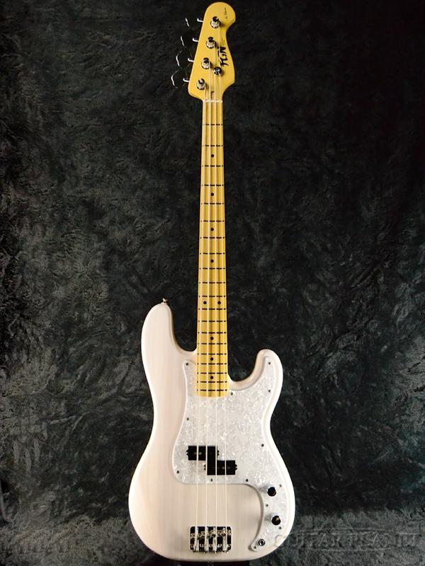 FgN(FUJIGEN) Neo Classic Series NPB10MAH WB 新品[フジゲン,富士弦][国産][Precision Bass,プレシジョンベース,プレベ][White Blonde,ホワイトブロンド,白][Electric Bass,エレキベース]