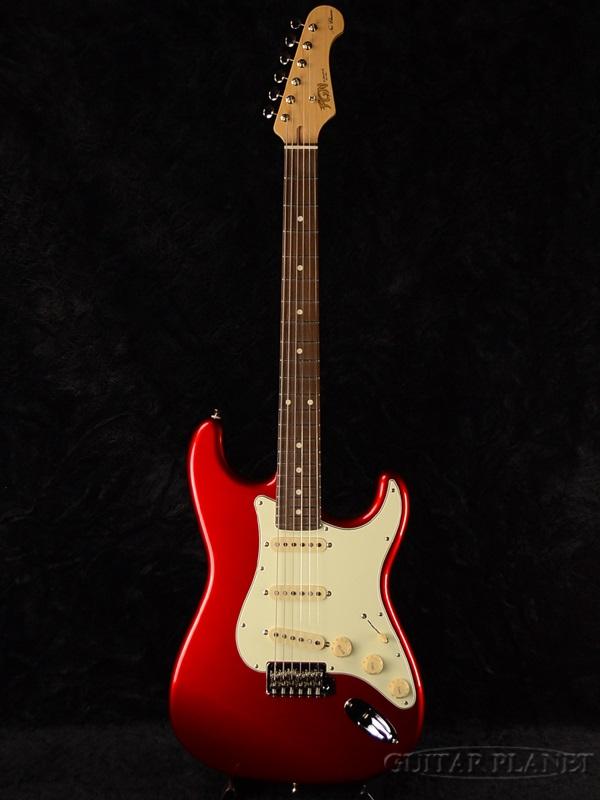 【限定カラー】FgN(FUJIGEN) NST100 CAR 新品[フジゲン,富士弦][国産][Stratocaster,ストラトキャスタータイプ][Candy Apple Red,キャンディーアップルレッド,赤][エレキギター,Electric Guitar]