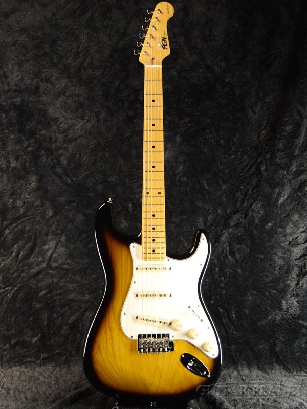 FgN(FUJIGEN) NST10MAH 2TS 新品[フジゲン,富士弦][国産][Sunburst,サンバースト][Stratocaster,ST,ストラトキャスター][Electric Guitar,エレキギター]