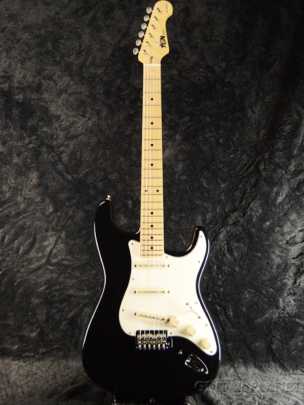 FgN(FUJIGEN) NST10MAH BK 新品[フジゲン,富士弦][国産][ブラック,黒][Stratocaster,ST,ストラトキャスター][Electric Guitar,エレキギター]