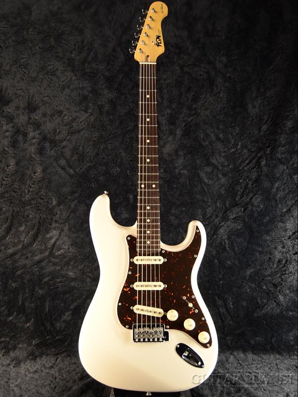 Guitar] White,ヴィンテージホワイト][ストラトキャスター,Stratocaster][エレキギター,Electric VWH FgN(FUJIGEN) 新品[フジゲン,富士弦][国産][Vintage NST10RAL