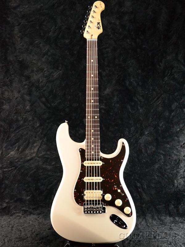 FgN(FUJIGEN) NST11R AL VWH 新品[フジゲン,富士弦][国産][Vintage White,ホワイト][ストラトキャスタータイプ,Stratocaster][エレキギター,Electric Guitar][NST-11]