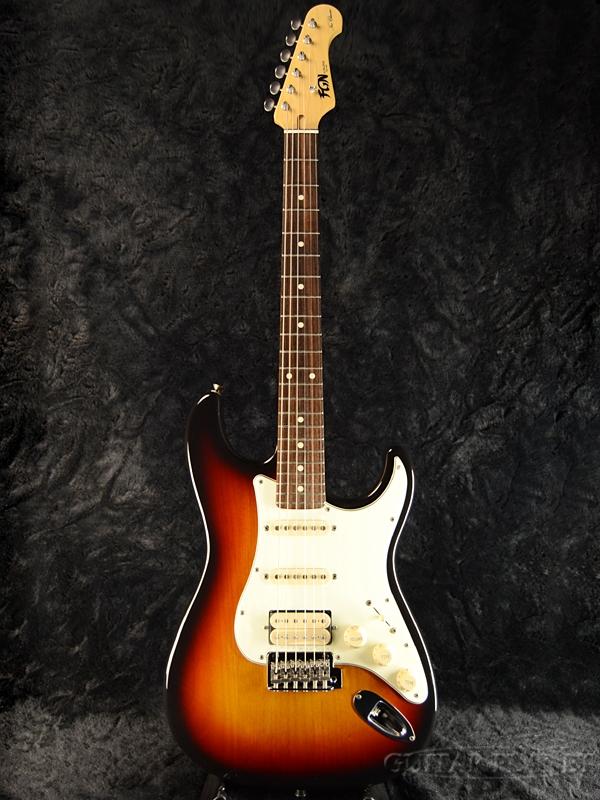 FgN(FUJIGEN) NST11RALM 3TS 新品[フジゲン,富士弦][国産][Mediumscale,ミディアムスケール][3トーンサンバースト][ストラトキャスター,Stratocaster,ST][エレキギター,Electric Guitar]