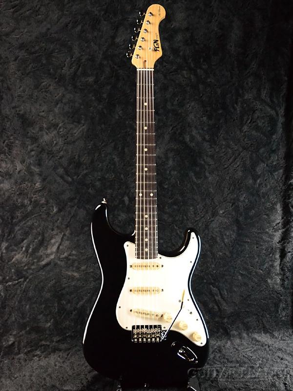 FgN NST20R AL BK 新品[フジゲン,富士弦][国産][ストラトキャスタータイプ][Black,ブラック,黒][Electric Guitar,エレキギター]