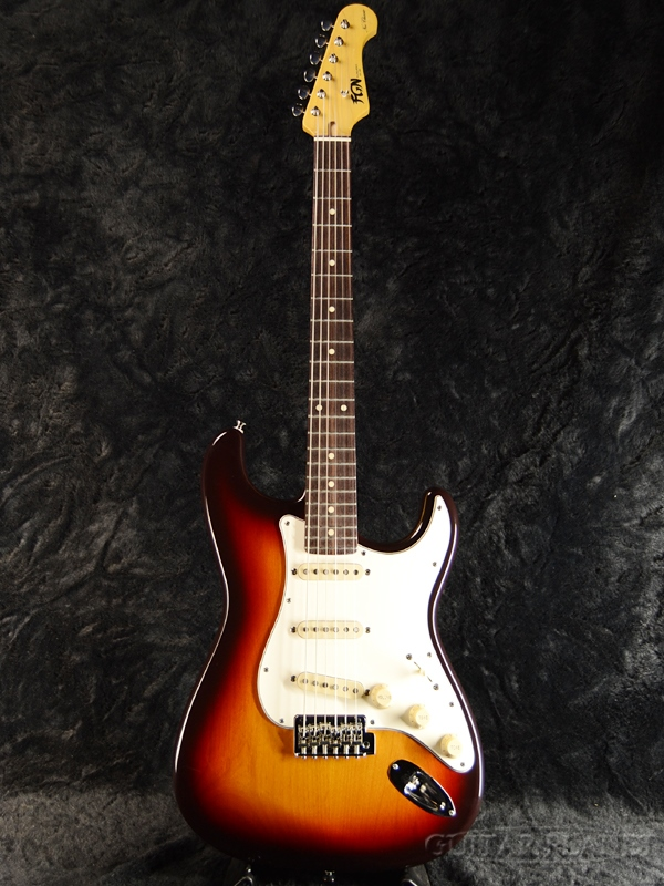 FgN NST20R AL 3TS 新品[フジゲン,富士弦][国産][ストラトキャスタータイプ][Sunburst,サンバースト,木目][Electric Guitar,エレキギター]