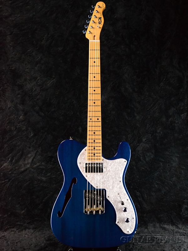 FgN NTL11M-MHT TBL 新品[フジゲン,富士弦][国産][シンライン][Telecaster,TL,テレキャスタータイプ][Blue,青][エレキギター,Electric Guitar]
