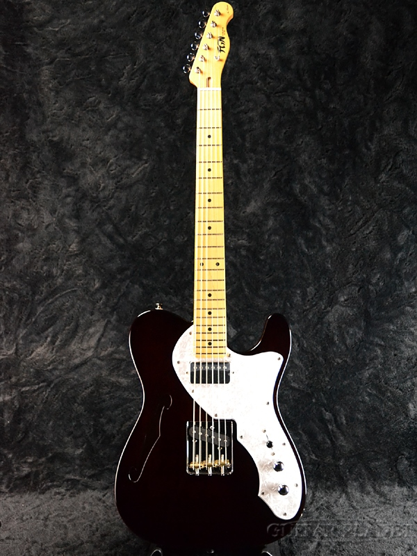 FgN NTL11M-MHT WN 新品[フジゲン,富士弦][国産][シンライン][Telecaster,TL,テレキャスタータイプ][ウォルナット][エレキギター,Electric Guitar]