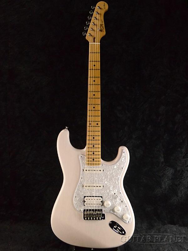 【カタログ外モデル】FgN SNST103 WB 新品[フジゲン,富士弦][国産][White Blond,ホワイトブロンド,白][Stratocaster,ストラトキャスタータイプ][Electric Guitar,エレキギター]