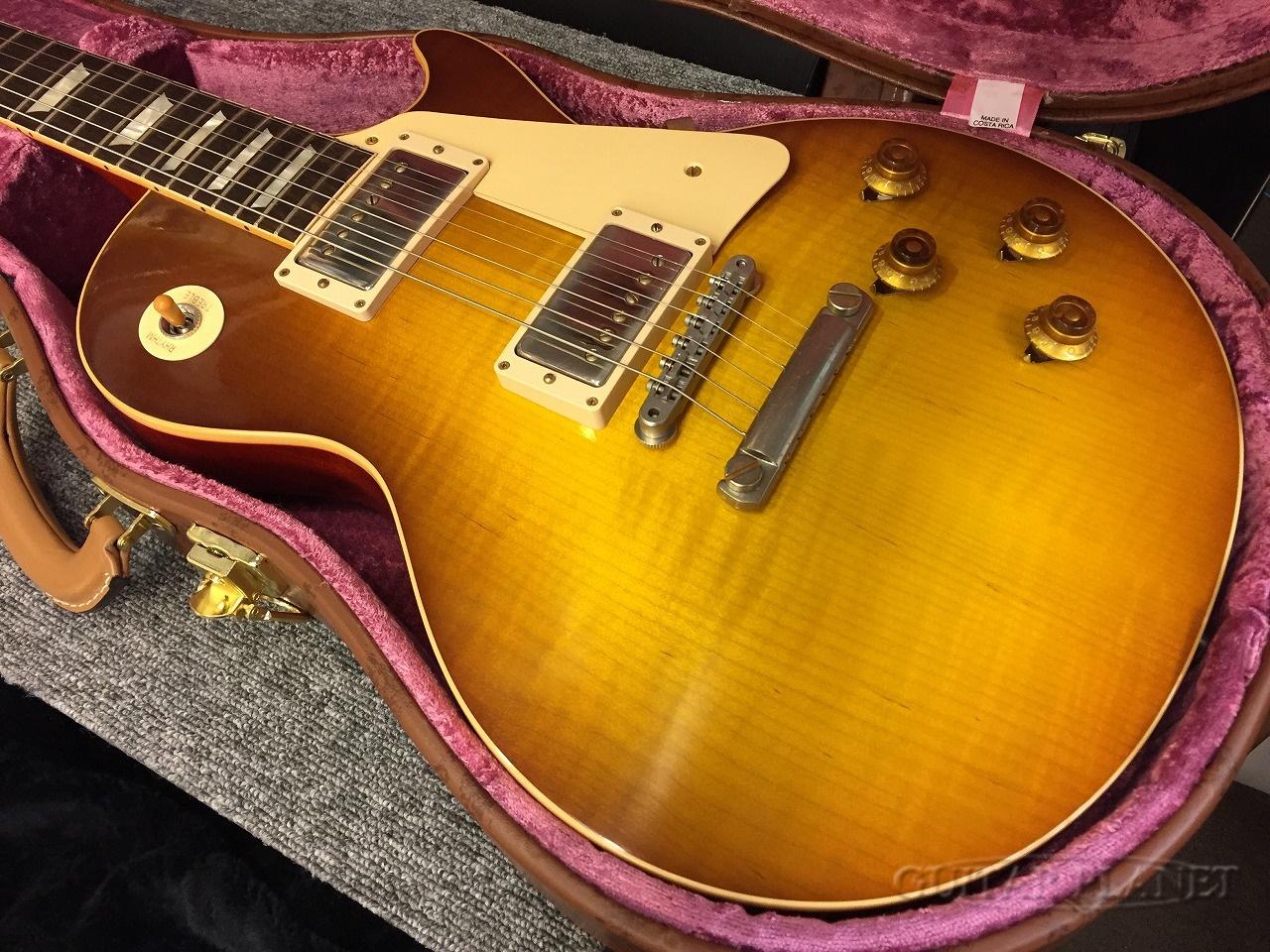 【中古】Gibson Custom Shop ~Historic Collection~ 1958 Les Paul Standard VOS -Honey Lemon Fade- 2018年製[ギブソン][ハニーレモン][LP,レスポール][Electric Guitar,エレキギター]【used_エレキギター】