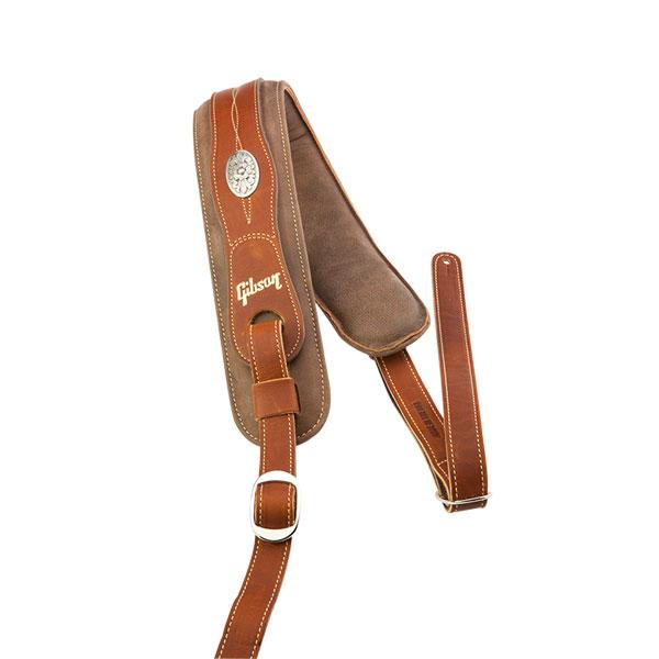 【純正品】Gibson The Austin Premium Comfort Strap ギブソンレザーストラップ[Leather,革][ギター/ベース用]