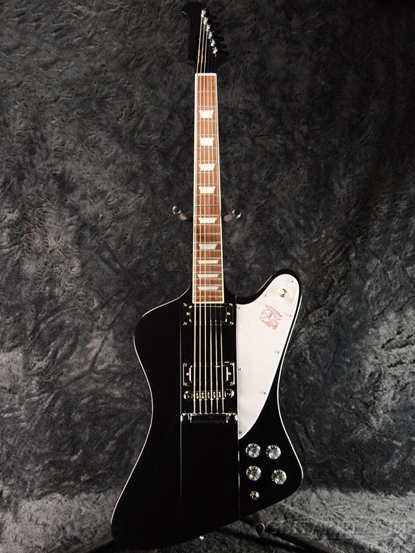 【2018Model】Gibson Firebird 2018 -Ebony- 新品[ギブソン][ファイヤーバード][Black,エボニー,ブラック,黒][Electric Guitar,エレキギター]