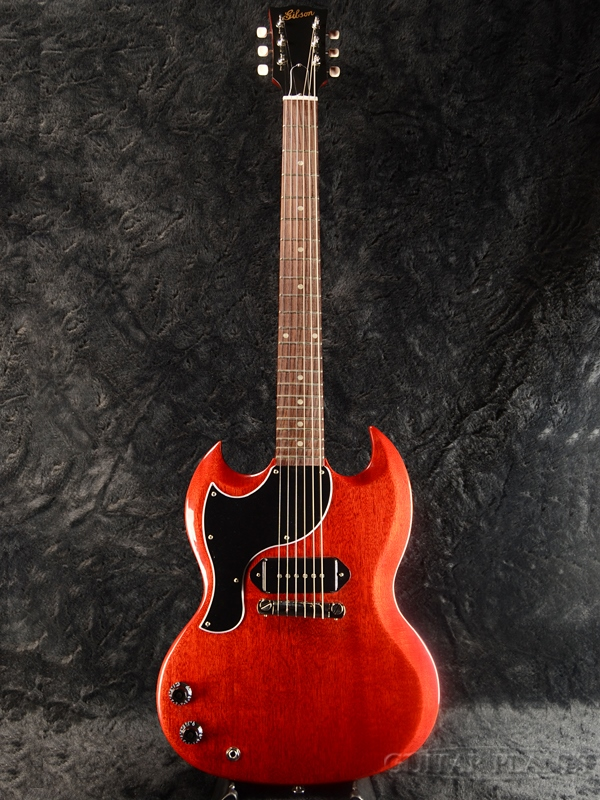 Gibson ~Special Edition~ SG Junior 2018 Lefty -Vintage Cherry- 新品[ギブソン][エスジー,ジュニア][Red,ビンテージチェリー,赤,木目][Lefty,レフトハンド,レフティ][Electric Guitar,エレキギター]