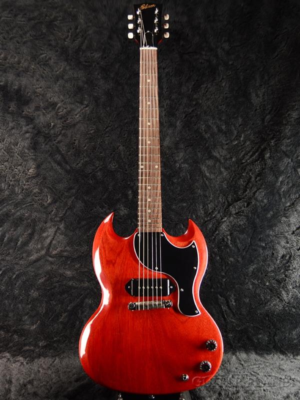 Gibson ~Special Edition~ SG Junior 2018 -Heritage Cherry- 新品[ギブソン][SGジュニア,Jr][ヘリテージチェリー,赤,木目][P-90][Electric Guitar,エレキギター]