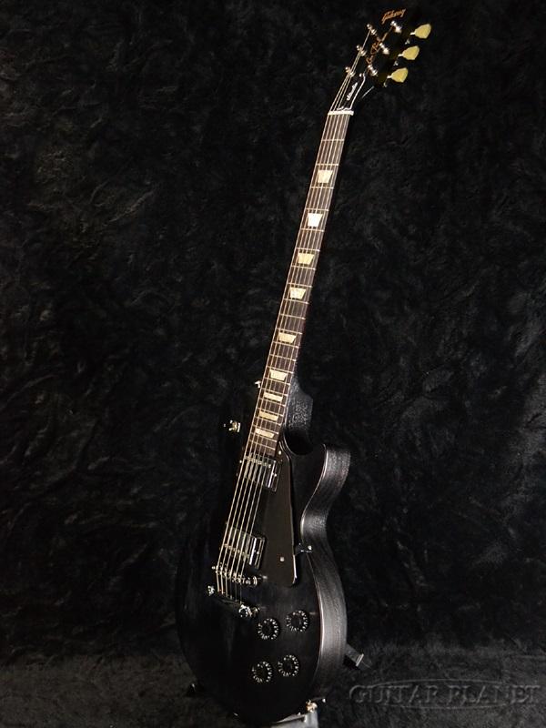新品牌 Gibson Les 保罗工作室褪色缎乌木