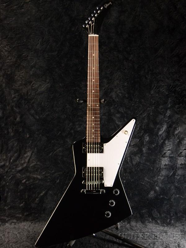 【2016 MODEL】Gibson Explorer 2016 Ebony 新品[ギブソン][エボニー,Black,ブラック,黒][エクスプローラー][Electric Guitar,エレキギター]