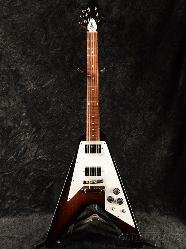 【限定特価】Gibson Japan Limited Run Flying V Vintage Sunburst 2015 新品[ギブソン][フライングV][ビンテージサンバースト][Electric Guitar,エレキギター]