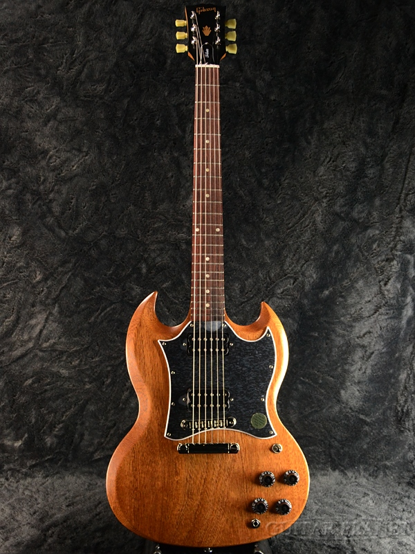 【2019 MODEL】Gibson SG Standard Tribute 2019 -Walnut Vintage Gloss- 新品[ギブソン][スタンダード,トリビュート][ウォルナット,茶][エスジー][Electric Guitar,エレキギター]