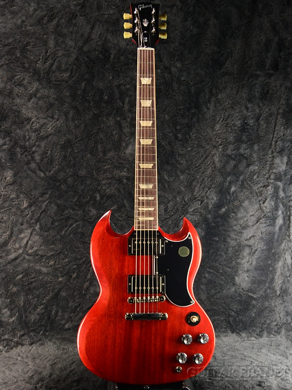 【2019 MODEL】Gibson SG Standard '61 2019 -Vintage Cherry- 新品[ギブソン][スタンダード][チェリー,赤,木目][エスジー][Electric Guitar,エレキギター]