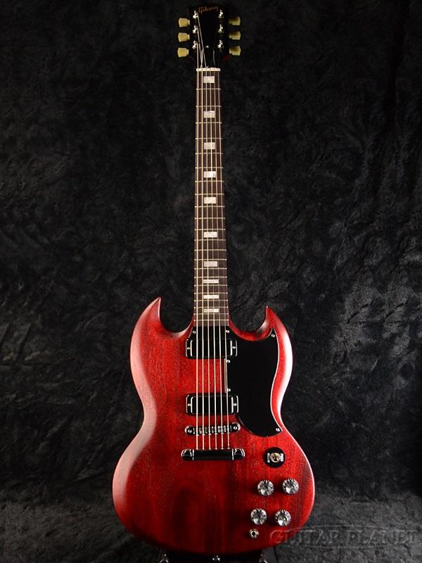 guitar planet rakuten global market gibson sg special 2016 worn cherry brand new red mini. Black Bedroom Furniture Sets. Home Design Ideas